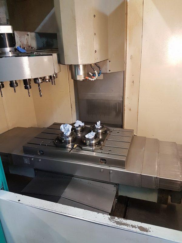 CNC Dik İşleme Merkezi Deckel Maho 63V