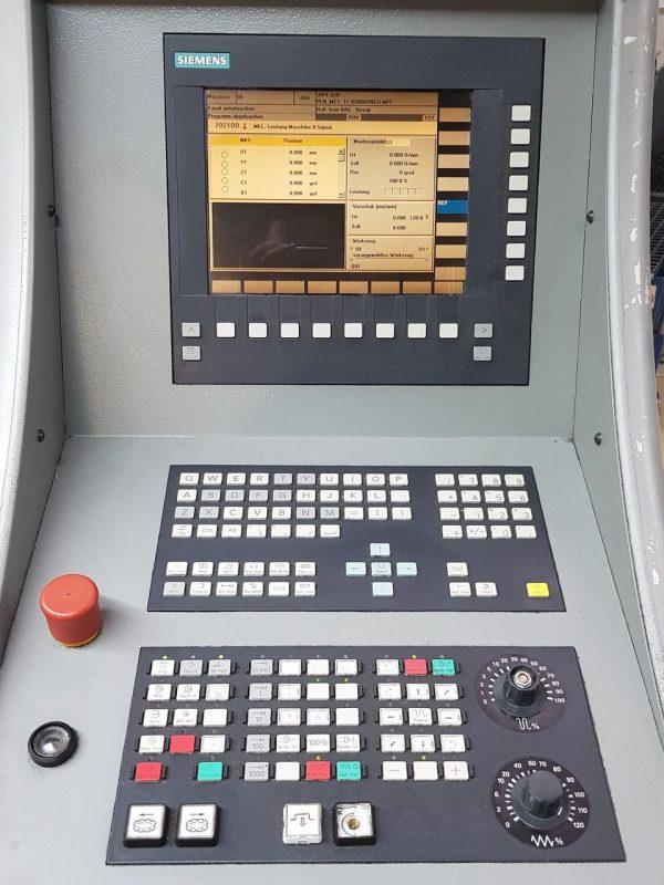 5 Eksen CNC İşleme Merkezi Deckel Maho DMC 60U hi-Dyn